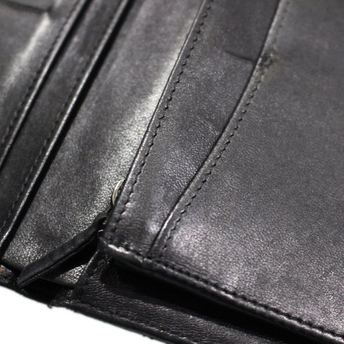 CHANEL シャネル ヴィンテージ<br>ココマークマトラッセ二つ折り長財布