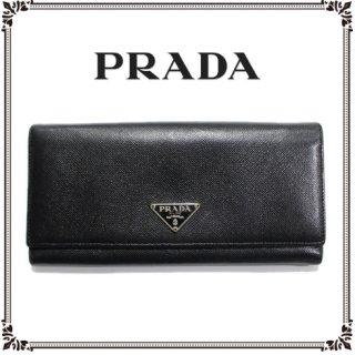 PRADA プラダ<br>【Vintage ヴィンテージ】<br>二つ折り長財布
