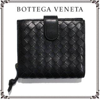 BOTTEGA VENETA ボッテガヴェネタ<br>【Vintage ヴィンテージ】<br>イントレチャート二つ折り財布