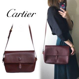Cartier カルティエ<br>【Vintage ヴィンテージ】<br>マストラインショルダーバッグ
