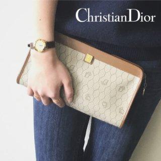 Dior ディオール<br>【Vintage ヴィンテージ】<br>ロゴポーチクラッチ