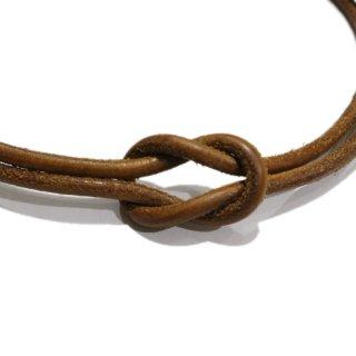 HERMES エルメス<br>【Vintage ヴィンテージ】<br> ヘラクリードレザーチョーカー
