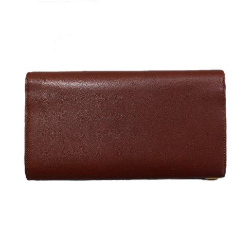 Cartier カルティエ ヴィンテージ<br>マストライン二つ折り長財布