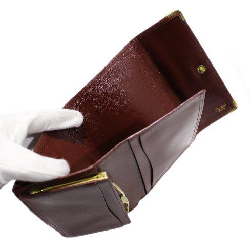 Cartier カルティエ ヴィンテージ<br>マストライン三つ折り財布