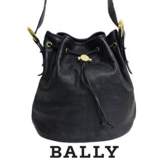 BALLY バリー<br>【Vintage ヴィンテージ】<br>レザーショルダーバッグ