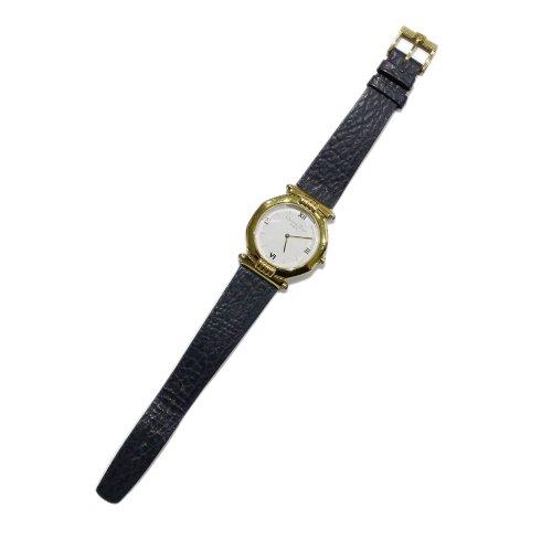 Dior ディオール<br>【Vintage ヴィンテージ】<br>メンズレザーベルトQZ腕時計