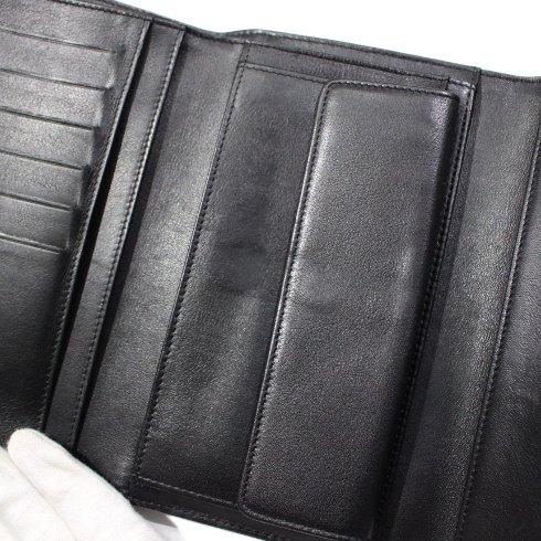 CHANEL シャネル<br>【Vintage ヴィンテージ】<br>ココマークエナメルレザー長財布