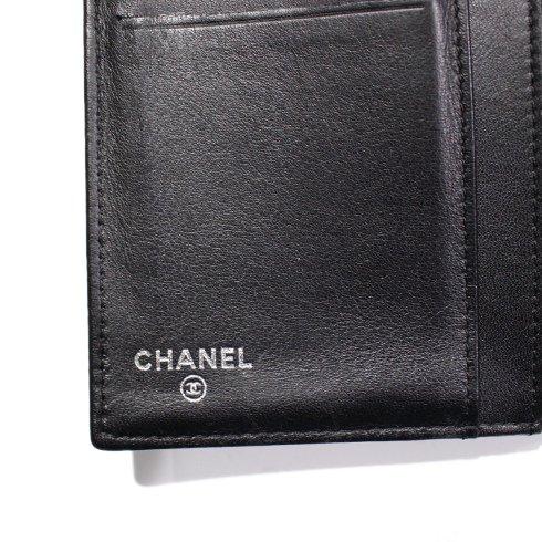 CHANEL シャネル ヴィンテージ<br>ココマークエナメルレザー長財布