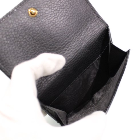 GUCCI グッチ<br>【Vintage ヴィンテージ】<br>ハートモチーフ×シマWホック二つ折り財布