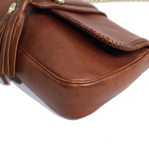 GUCCI グッチ<br>【Vintage ヴィンテージ】<br>マラケシュタッセルクラッチチェーンバッグ