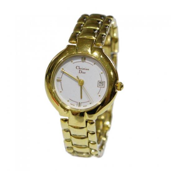 Dior ディオール ヴィンテージ<br>ゴールドQZ腕時計