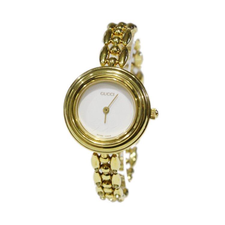 GUCCI グッチ<br>【Vintage ヴィンテージ】<br>チェンジベゼルQZ腕時計 6色