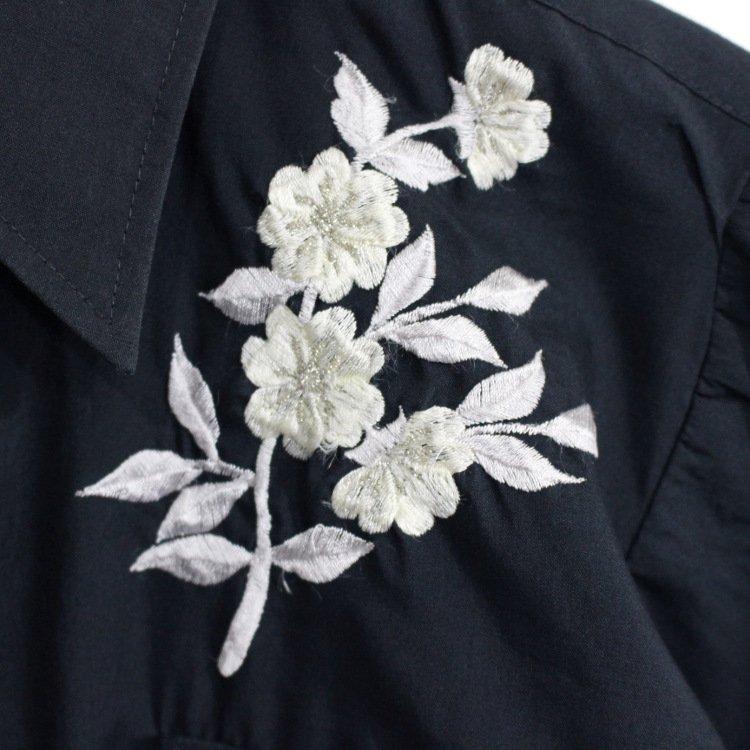 RiLish's SELECT ヴィンテージ<br>CHUTE#1 花柄刺繍シャツ