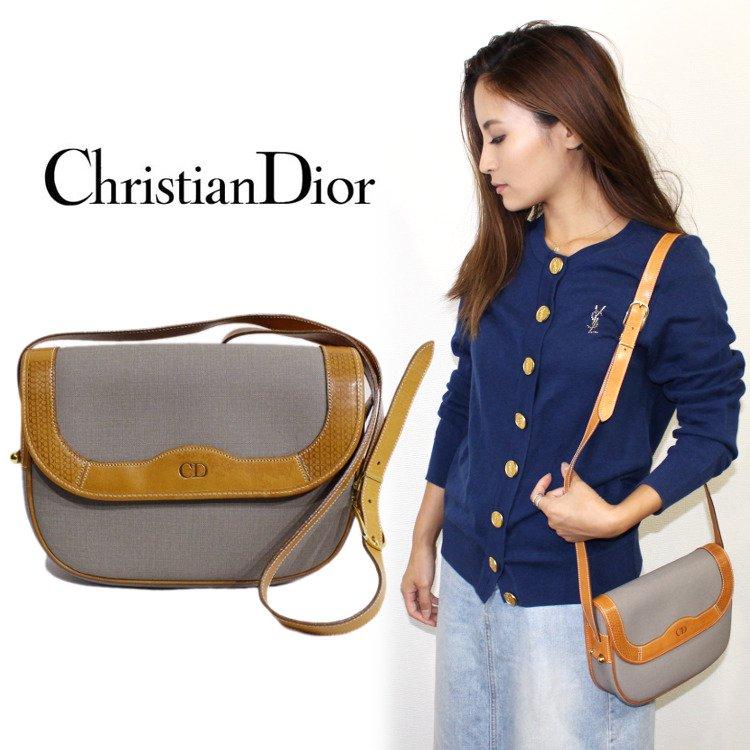 Dior ディオール ヴィンテージ<br>バイカラ—ショルダーバッグ