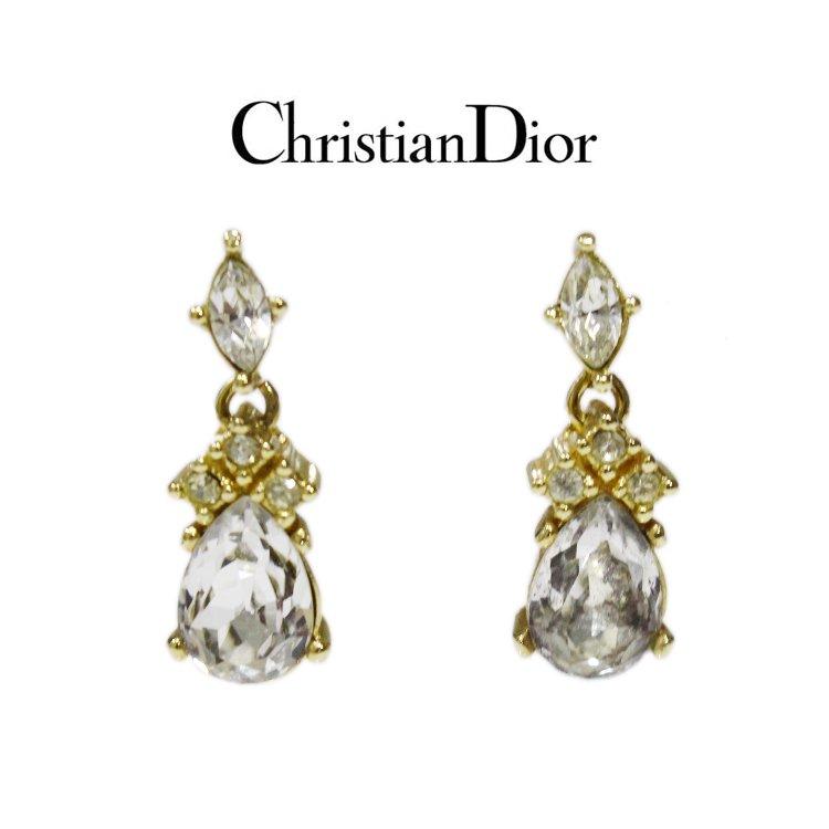 Dior ディオール ヴィンテージ<br>ビジュースウィングピアス