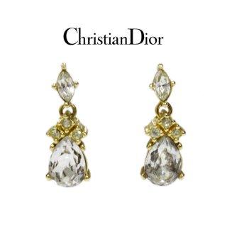 Dior ディオール<br>【Vintage ヴィンテージ】<br>ビジュースウィングピアス