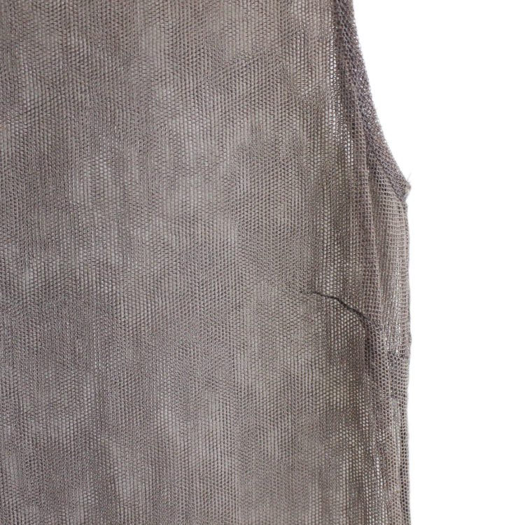 D&G ドルチェ&ガッバーナ ヴィンテージ<br>フラワー刺繍メッシュタイトワンピース