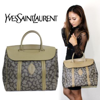 YSL イヴサンローラン<br>【Vintage ヴィンテージ】<br>キリン柄ケリーバッグ