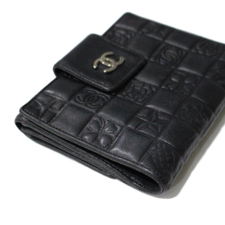 CHANEL シャネル ヴィンテージ<br>アイコン二つ折り財布