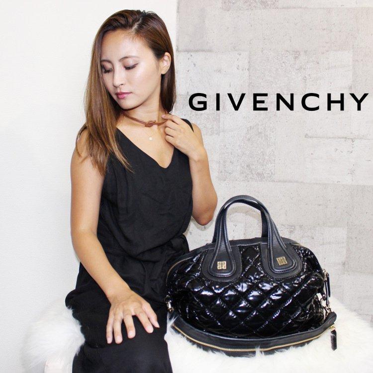 GIVENCHY ジバンシー ヴィンテージ<br>ナイチンゲールキルティングバッグ