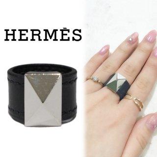 HERMES エルメス ヴィンテージ<br>メドールレザーリング