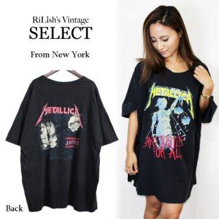 RiLish's SELECT ヴィンテージ<br>METALLICA(メタリカ)バンドTシャツ