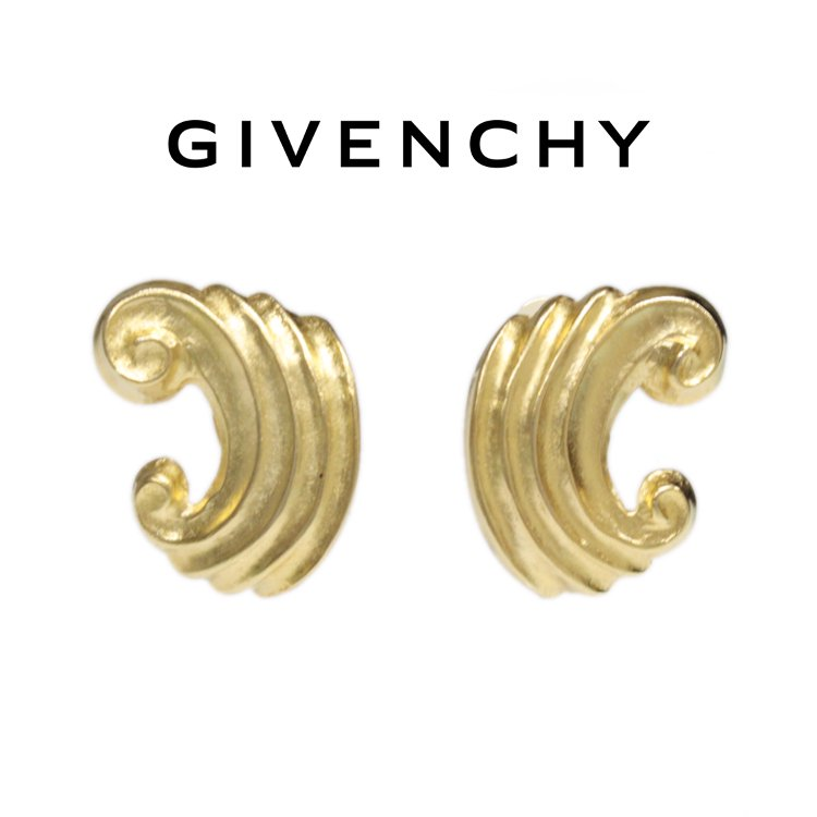 GIVENCHY ジバンシー ヴィンテージ<br>ウィングモチーフイヤリング