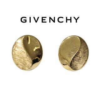GIVENCHY ジバンシー ヴィンテージ<br>サークルデザインイヤリング