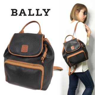 <img class='new_mark_img1' src='https://img.shop-pro.jp/img/new/icons14.gif' style='border:none;display:inline;margin:0px;padding:0px;width:auto;' />BALLY バリー ヴィンテージ<br>バイカラーリュック