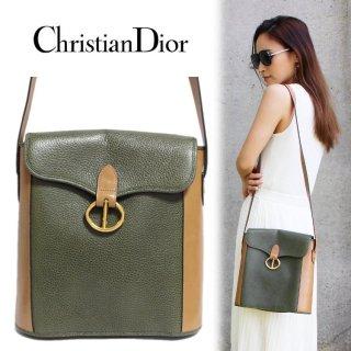 Dior ディオール ヴィンテージ<br>バイカラーショルダーバッグ