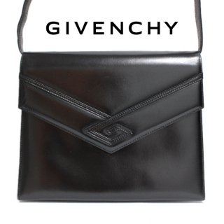 <img class='new_mark_img1' src='https://img.shop-pro.jp/img/new/icons14.gif' style='border:none;display:inline;margin:0px;padding:0px;width:auto;' />GIVENCHY ジバンシー ヴィンテージ<br>SACS レザーショルダーバッグ ブラック