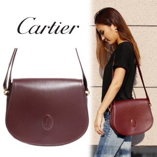 <img class='new_mark_img1' src='https://img.shop-pro.jp/img/new/icons14.gif' style='border:none;display:inline;margin:0px;padding:0px;width:auto;' />Cartier カルティエ ヴィンテージ<br>マストラインショルダーバッグ