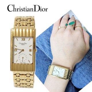 Dior ディオール ヴィンテージ<br>モデール デポーズQZ腕時計 55.142