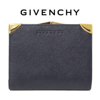 GIVENCHY ジバンシー ヴィンテージ<br>がま口二つ折り財布