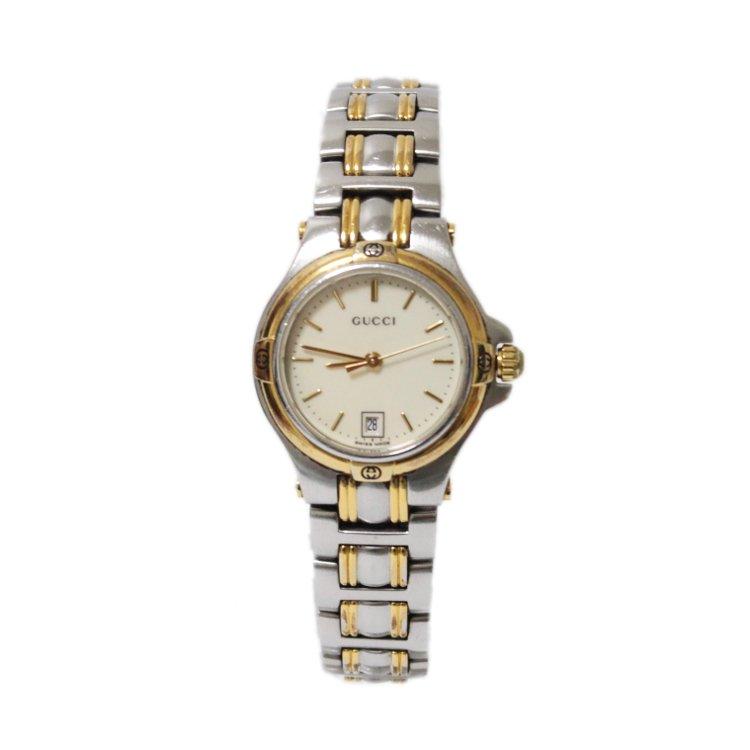 10ee274889b6 GUCCI グッチ ヴィンテージコンビデイトQZ腕時計 9040L - ヴィンテージ ...