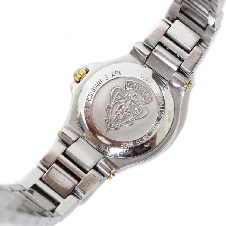 GUCCI グッチ ヴィンテージ<br>コンビデイトQZ腕時計 9040L