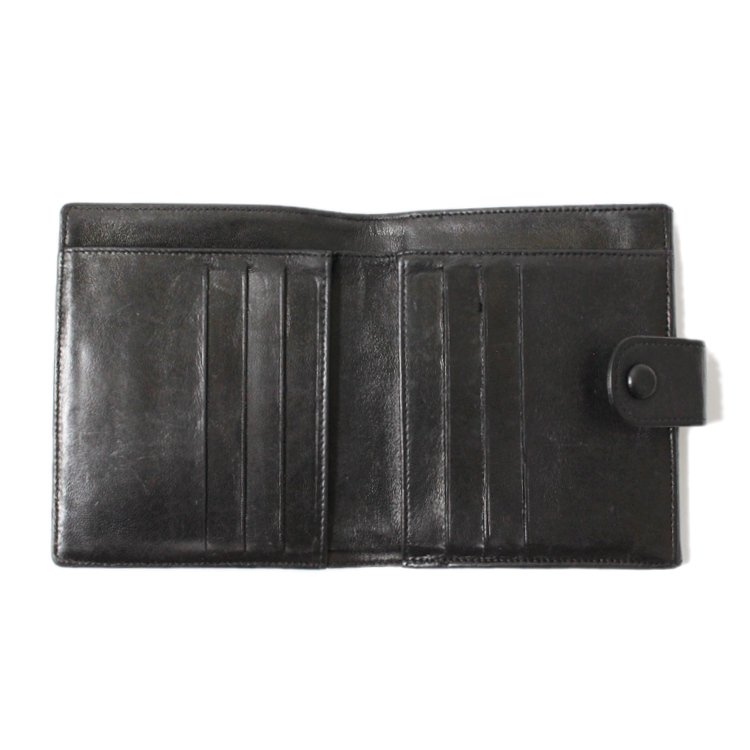 CHANEL シャネル ヴィンテージ<br>ラムスキンココマーク二つ折り財布
