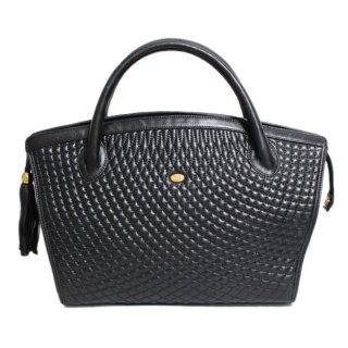 BALLY バリー ヴィンテージ<br>キルティングタッセルハンドバッグ