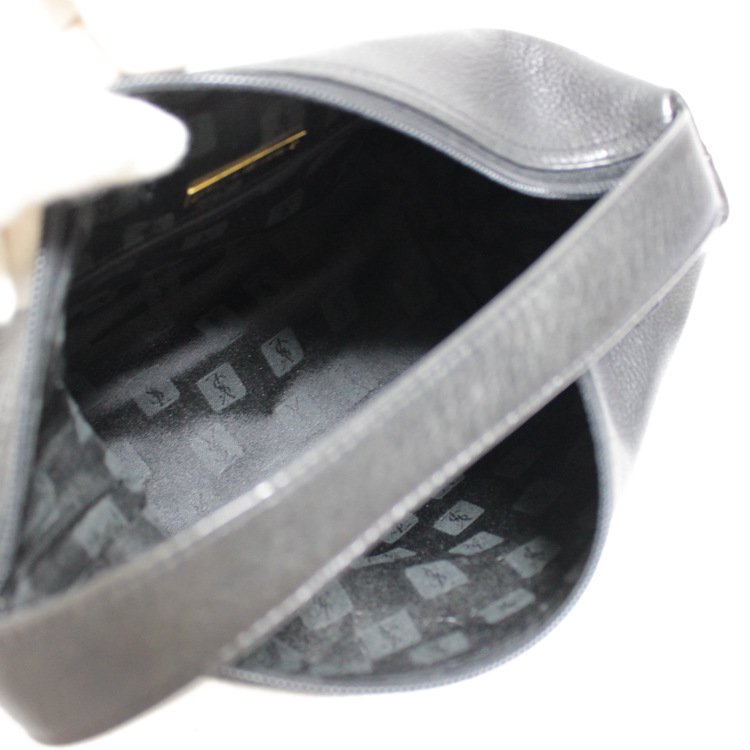 YSL イヴサンローラン ヴィンテージ<br>ダイヤカットバニティハンドバッグ