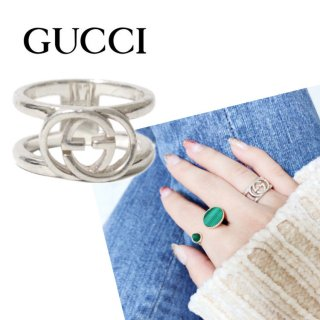 <img class='new_mark_img1' src='https://img.shop-pro.jp/img/new/icons14.gif' style='border:none;display:inline;margin:0px;padding:0px;width:auto;' />GUCCI グッチ ヴィンテージ<br>GGシルバーリング