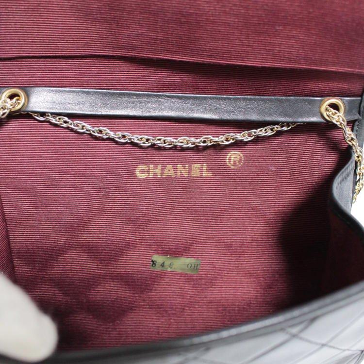 CHANEL シャネル ヴィンテージ<br>ココマークマトラッセポシェットチェーンショルダーバッグ