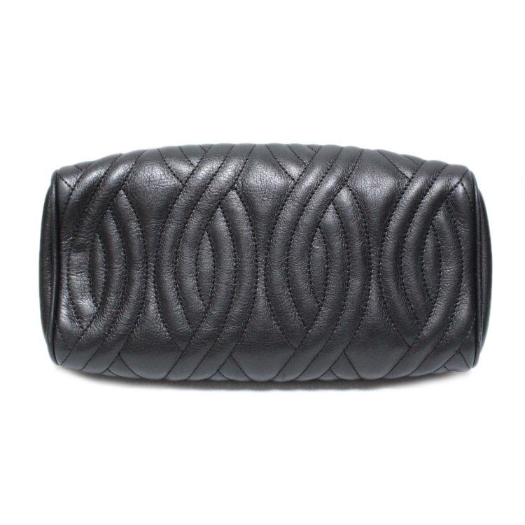 FENDI フェンディ ヴィンテージ<br>キルティングレザーミニハンドバッグ