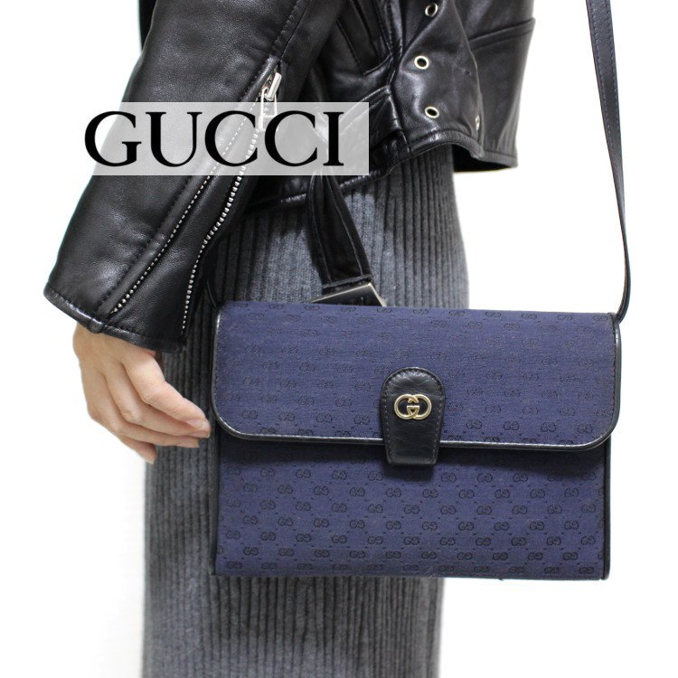 <img class='new_mark_img1' src='https://img.shop-pro.jp/img/new/icons14.gif' style='border:none;display:inline;margin:0px;padding:0px;width:auto;' />GUCCI グッチ ヴィンテージ<br>マイクロGGショルダーバッグ