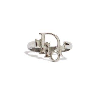 Dior ディオール ヴィンテージ<br>シルバーロゴリング