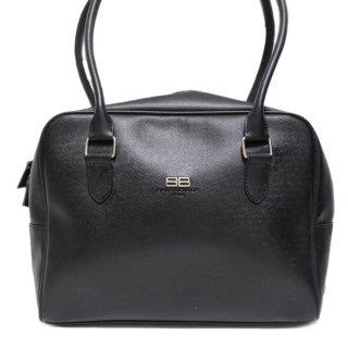 BALENCIAGA バレンシアガ ヴィンテージ<br>BBロゴレザーハンドバッグ
