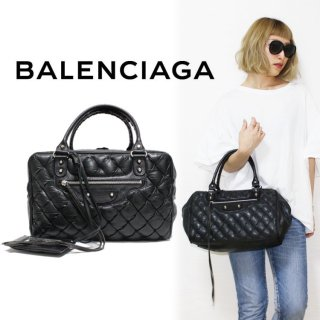 BALENCIAGA バレンシアガ ヴィンテージ<br>ザ・マトラッセハンドバッグ