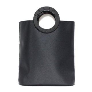 CELINE セリーヌ ヴィンテージ<br>ロゴサークルハンドルミニナイロンハンドバッグ