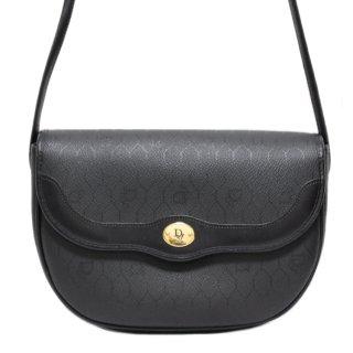 Dior ディオール ヴィンテージ<br>ハニカム柄PVCカーフレザーショルダーバッグ