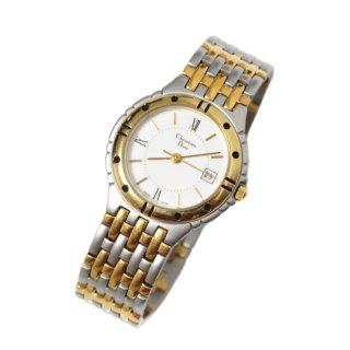 Dior ディオール ヴィンテージ<br>コンビカラーQZ腕時計 3022