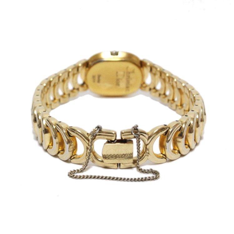 Dior ディオール ヴィンテージ<br>ゴールドチェーンQZ腕時計 3024